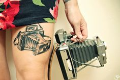 love camera tattoos