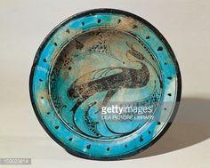 Abbasid civilization, Raqqa ceramic bowl with decoration