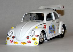 AA/Fuel Altered VW.  1/24 scale by M. Votaw