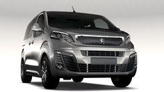 Peugeot Traveller L1 2017 3D Model .max .c4d .obj .3ds .fbx .lwo .stl @3DExport.com by CREATORD