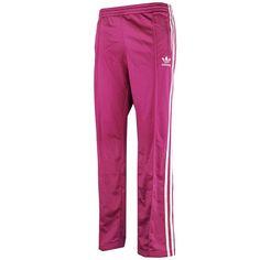 Adidas Originals 14 Womens firebird tracksuit trackpants 3 stripes bottoms pink…