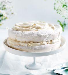 Meringue-Torte mit Rahmmousse