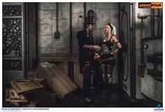 Steampunk Voodoo Baron Nomada & Kato  Model : Leonarius & Kato  Photo : Nicolas Meunier  Costume : Atelier Chazard  Geekopolis 2015     More photos on my page :  https://www.facebook.com/leonarius.n/  https://www.facebook.com/NicolasMeunierPhotographe https://www.facebook.com/steampunkato #dark #Voodoo #mystical #magic #vaudou #baron #veve #fx #green #victorian #Steampunk #strange #charm #zombie #bayou #kato #geekopolis #steamgirl #steamboy #clockpunk #DavinciPunk