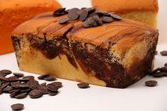 Bizcocho Mármol con Chips de Chocolate