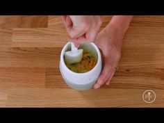Pampered Chef On the Go Breakfasts in the Ceramic Egg Cooker Recipes - YouTube