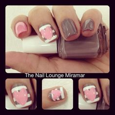 Nails by Stacy at the Nail Lounge in Miramar, FL  SHE ROCKS!