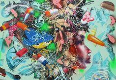 David Choe < Dirty graffiti style >