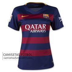 Primera camiseta de Mujer Barcelona 2015 2016 | camisetas de futbol baratas