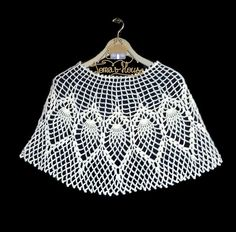Easy Crochet Cape Pattern, Women Lace Wedding Cover up, Evening Bohemian Bolero Shrug Pattern, Boho Poncho, Tutorial Instruction and Photos Crochet Cape Pattern, Shrug Pattern, Gown Pattern, Easy Crochet Patterns, Hairpin Lace, Crochet Wedding, Lace Wedding, Crochet Headband Free, Free Crochet