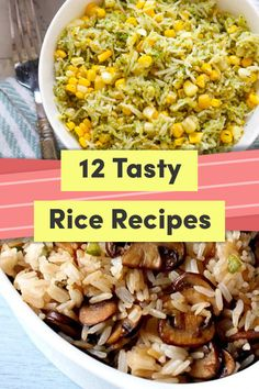 12 Ways To Make Rice That's So Good You'll Want To Eat It Cold is part of Ways To Make Rice Thats So Good Youll Want To Eat It Cold - Time to change things up Tasty Rice Recipes, Rice Salad Recipes, Side Recipes, Delicious Vegan Recipes, Healthy Salad Recipes, Veggie Recipes, Cooking Recipes, Vegan Meals, Healthy Dinners