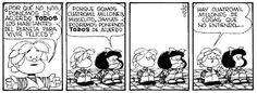 Cuatro mil millones de cosas... Mafalda