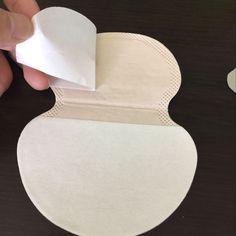 50 unids Desechable Axilas Sudor Guardia Pad Axila Hoja Liner Vestido Ropa Shield Desodorante Sudor Almohadillas Venta Caliente