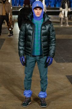 Male Fashion Trends: Moncler Grenoble Fall/Winter 2016/17 - New York Fashion Week