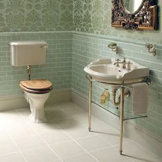 Product image for Imperial Antique Crackle Ceramic Dado Tiles 130 X 50mm