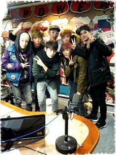 Teen Top at SBS Power FM #teentop