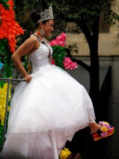 Show me your Shoes  Fiesta San Antonio, TX. I feel like I need to be this for Halloween