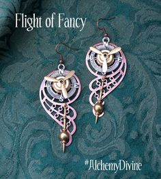 Steampunk Chandelier Earrings Propeller Compass by AlchemyDivine https://www.etsy.com/listing/201720882/steampunk-chandelier-earrings-propeller?ref=shop_home_active_15