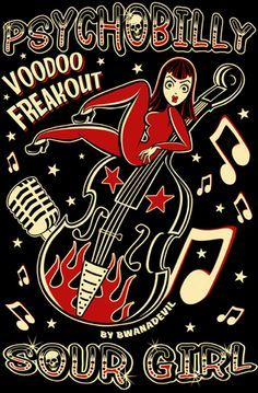 psychobilly art - Google Search