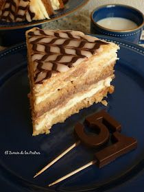 El Zurrón de los Postres: Tarta el Capricho de Moisés Sweet Recipes, Cake Recipes, Cupcake Cakes, Cupcakes, Cheesecake Cake, Pastry Cake, Cakes And More, Cake Art, Coffee Cake