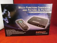 40972 impact acoustics pc to tv converter w/remote ~ Free Domestic Shipping!! #impact