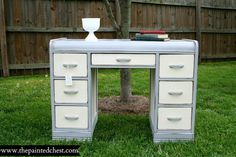 Painted Desk PINS on Pinterest
