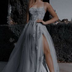 Pretty Prom Dresses, Elegant Dresses, Cute Dresses, Flowy Prom Dresses, Elegant Ball Gowns, Awesome Dresses, Homecoming Dresses, Ball Gowns Prom, Ball Gown Dresses
