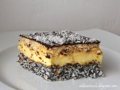 Ciasto Pijak Cake Recipes, Dessert Recipes, Polish Recipes, Polish Food, Sweets Cake, Tiramisu, Banana Bread, Sweet Treats, Food And Drink