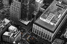 Yellow Cabs - bird's eye view #NewYork