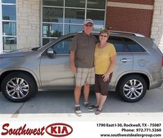Congratulations to Donna Morris on the 2013 #KIA #Sorento