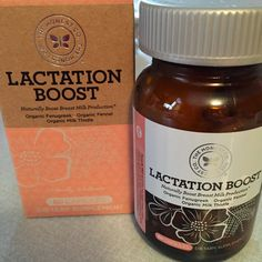 Lactation Boost - this amazing supplement really helped me build my milk supply and create a freezer stash of breastmilk!