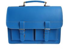 Small school bag, blue.    Size: H: 27 cm/ L: 34 cm/ W: 9 cm
