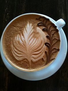 My absolute favorite coffee! Cafe Ladro's Medici (Mocha and Orange Zest)