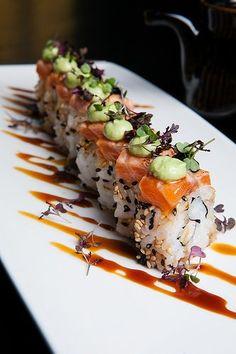 My favorite food: Sushi Japan Sushi, Asian Recipes, Healthy Recipes, Sushi Love, Sashimi, Food Presentation, Food Plating, I Love Food, My Favorite Food