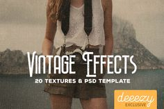 Vintage Paper Textures & Effects – Deeezy – Freebies with Extended License