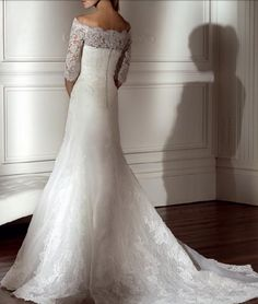 Antonio Garanti bridal dress! #nyfika