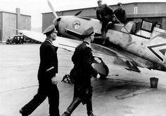 Mölders and his Bf 109F-1