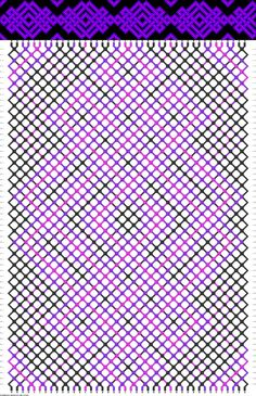 42 strings, 3 colors, 48 rows