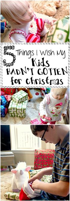 This list of 5 Things I Wish My Kids HADN'T GOTTEN for Christmas is so funny! Like seriously...LOL!