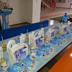 Arte Festas e Eventos: Frozen - na escola