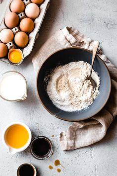 Amazing Food Photography, Food Photography Tips, Classic Pancake Recipe, Teff Recipes, Bojon Gourmet, Gluten Free Pancakes, Vegan Options, Food Menu, Cookies