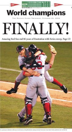 Boston Red Sox - Finally!
