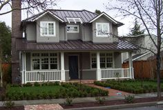 Best Blue Rock And Stucco Exterior Navy Blue House With 400 x 300