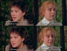 Anne of Green Gables...man, it is such a wonderful movie.