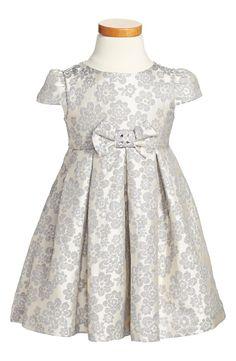 Floral Jacquard Dress (Toddler Girls, Little Girls & Big Girls) Nordstrom Holiday 2014
