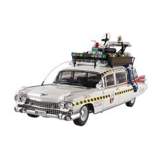 """Straight from Hotwheels 'Elite Cult Classic' series comes this highly detailed diecast model. The accurate 1/18 scale replica comes in a window box packaging.       Famous Words of Inspiration...""""There are two ways of meeting difficulties: you alter the... more details available at https://perfect-gifts.bestselleroutlets.com/gifts-for-babies/toys-games-gifts-for-babies/product-review-for-ghostbusters-2-ecto-1a-hot-wheels-elite-118-scale-vehicle/"""