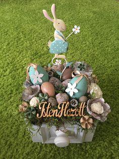 handmade, home decor, spring, flower, bunny, easter