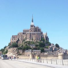 Mont-Saint-Michel. Such a beautiful little island with so much to offer.