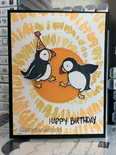 Handmade Birthday Cards, Happy Birthday Cards, Birthday Wishes, Animal Cards, Stamping Up, Kids Cards, Stampin Up Cards, Cardmaking, Paper Crafts