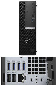 Dell OptiPlex 5080 SFF XCTO _PC-5080SFF-i510500-4-256SSD-UB-U-NWL-3Y Intel Core i5-10500 (12 MB Cache, 6 Cores, 12 Threads, 3.1 GHz to 4.5 GHz, 65 W)/ Intel Q470 Chipset / 4GB 2666MHz or 2933MHz DDR4 Memory/ M.2 256GB PCIe NVMe Class 35 SSD /8x DVD+/-RW 9.5mm ODD/ Dell Optical Mouse & Keyboard / OS :Ubuntu Linux18.04 / Port: 2 DP ,HDMI / 3Y Prosupport + Keep Your HD - 42OT580002 Dell Desktop, Keyboard