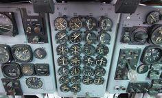 """Fairchild C-123K """"Provider"""" center of cockpit"""